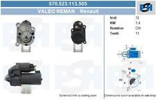 Valeo generalüberholt Anlasser für Startanlage 570.523.113.505 RENAULT
