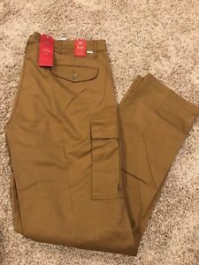 LEVI'S 541 ATHLETIC FIT STRETCH CARGO PANTS BIG & TALL Men's 44X30 MSRP $79  New