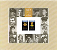 U.S. Postage Stamps Medal of Honor Korean War. Full Sheet of Forever Stamps New