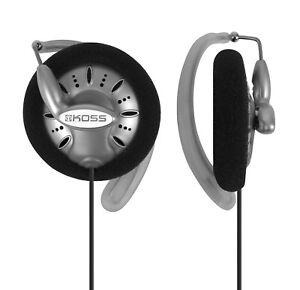 """Koss Stereo ClipOn Headphones """"KSC75"""", Silver"""