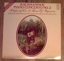 Rachmaninov Piano Concerto No. 2, Rhapsody On A Theme Of Paganini Vinyl LP 1982