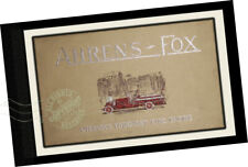 Ahrens-Fox Fire Engine Co 1918 TRADE CATALOG Fire Trucks Engines Chassis Ladders