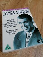Collectable dvds JAMES STEWART 3 Film Boxset Plus Biography Home Film Movie FREE