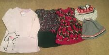 Lot Of 4 Gymboree Toddler Girl Size 5-6 Dresses EUC Fall Winter NWT
