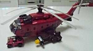 1999 Matchbox Helicopter Matchbox Mission Bravo Helicopter Mattel 1999