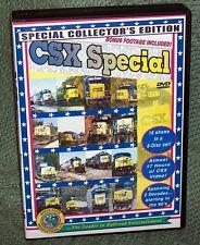 "20232 TRAIN VIDEO DVD BOX SET ""CSX SPECIAL"" 8 DISC SET 17 HOURS"