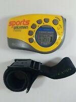 Sony Sports Walkman SRF-M78 Digital AM/FM Radio Armband Strap Portable TESTED