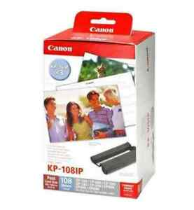 NEW Genuine Canon KP-1081P Ink & Paper Set for Canon Selphy Dye Sub Printers