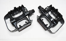 """Bicycle Pedals Alloy Cage  9/16"""" Axle BMX, MTB, City or Road Bike FREE POST"""