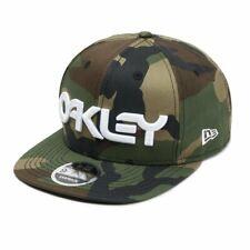 Oakley New Era Mark II Novelty Snap Back Hat Core Camo Baseball Cap New Visor