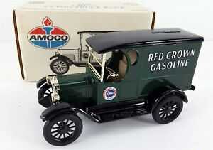 ERTL 1923 Chevy 1/2 Ton Truck Bank Amoco Red Crown Gasoline 1320 Limited Edition