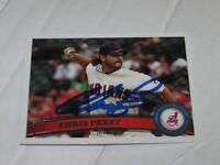 Chris Perez Autographed Topps Baseball Card