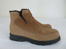 Columbia Hadfield Women's Brown Waterproof Winter Side Zip Boots Size US 6.5