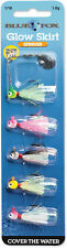 Blue Fox Glow Skirt Spin Kit 1/16 oz. - Bass, Trout, Crappie, & Panfish Lure