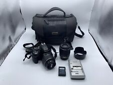 Nikon D3200 24.2 MP Digital SLR Camera with 2 lens, 1 battery and charger 145244