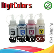 Refill Ink Bottles sets For Use with Epson L100 L200 L300 L350 L550 Cart T664