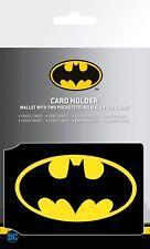 Batman Comics Logo Justice League Card Holder Travel Holder ID Card Holder