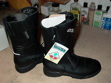 IXS Girls Ladies Womens Motorcycle Boots Size 3 Euro 34 Full zipper waterproof