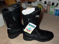 IXS Ladies Girls Womens Motorcycle Boots Size 3 Euro 34 Full zipper waterproof