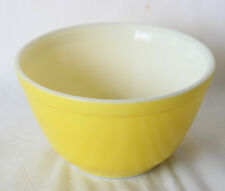 Vintage PYREX USA Primary YELLOW MIXING BOWL Small Retro