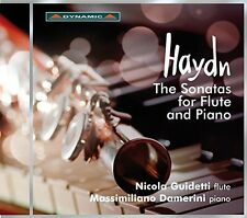 Haydn / Guidetti - Sonatas for Flute & Piano [New CD]