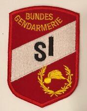 """Gendarmeriepatch """"SI"""" - Schießinstruktor"""