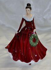 Royal Doulton Figurine Mistletoe and Wine Hn5701 2014