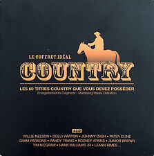 Compilation 4xCD Le Coffret Idéal Country - France (EX/EX+)