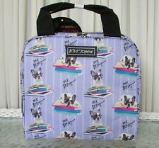Betsey Johnson French Bulldog Boston Terrier Insulated Lunch Bag Tote NWT