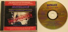 METALLICA...ENTER SANDMAN VOLUME 3..UNAUTHORISED..LIVE WORLD TOUR 1993 PART 1 CD