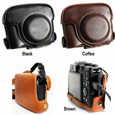 Leather Camera case bag Cover For Canon POWERSHOT G15 G16