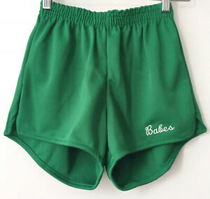 legit babes X russell athletic cheerleader shorts women's size medium NWOT 90s
