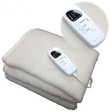 Fleece Massage Table Warmer Cover Heating Pad Comfort 5 Heat Settings Therapy