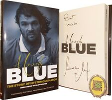 GLASGOW RANGERS Moody Blue: The Story of Mysterious  Marco Negri SIGNED BOOK