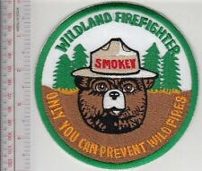 Smokey the Bear US Forest Service USFS Wildland Firefighter ''Only You Can prven