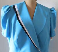 Kostüm blau, elegant, Gr. 50