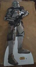 Desert Storm Trooper Poster Standee Star Wars Lucas film Movie Memorabilia Pinup
