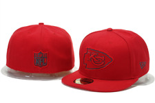 New Kansas Chiefs New Era 59FIFTY Red on Red Fitted Hat Cap