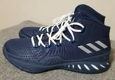 Adidas Crazy Explosive Boost Basketball Shoes Navy BY3773 Men's New Size 14.5