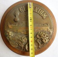 GERANIUM Dragueur de mines + Gendarme - 1955-1987- Marine - Tape de bouche