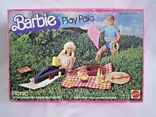 VINTAGE BARBIE PLAYPAK MATTEL 5757 PICNIC SET WITH KITE & LOUNGER & ACCESSORIES