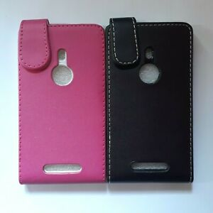 Vertical style PU leather flip phone case, cover to fit Nokia Lumia 925