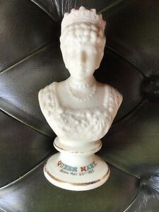 ARCADIAN PARIAN BUST OF QUEEN MARY- Born May 26th 1867