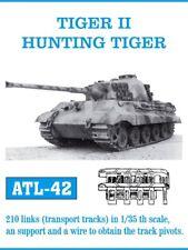 1/35 Friulmodel ATL-42 Tiger II Hunting Tiger Friul Metal Tracks (Transport)