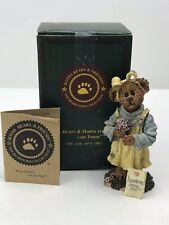 Boyds Bears The Bearstone Collection Abby T Bearymuch Yours Truly Bear Figurine