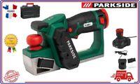 PARKSIDE® Rabot électrique sans fil PHA 12 A1, 12 V avec batterie et chargeur