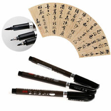 3PCS Chinese Calligraphy Writing Art Painting Tool Brush Pen size of Random FD