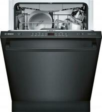"Bosch Ascenta Series Shxm4Ay54N 24"" Fully Integrated Dishwasher Black Stainless"
