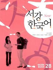 Sogang Korean 2B Workbook With CD Korea Hangul Learn Language Study Book