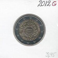 2 Euros - ALLEMAGNE - 2012 - Lettre: G // Qualité: Neuve (10 ans de circulation)